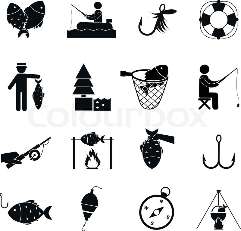 fish, Hook, Bubbles, sports, Fishing icon