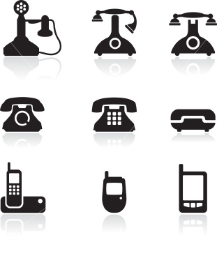 Phone square icon vector | Download free
