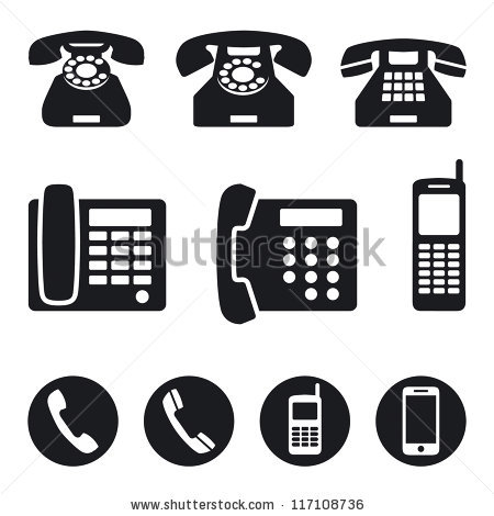 Phone Icon Free Vector Art | 27,000  Free Phone Icons!